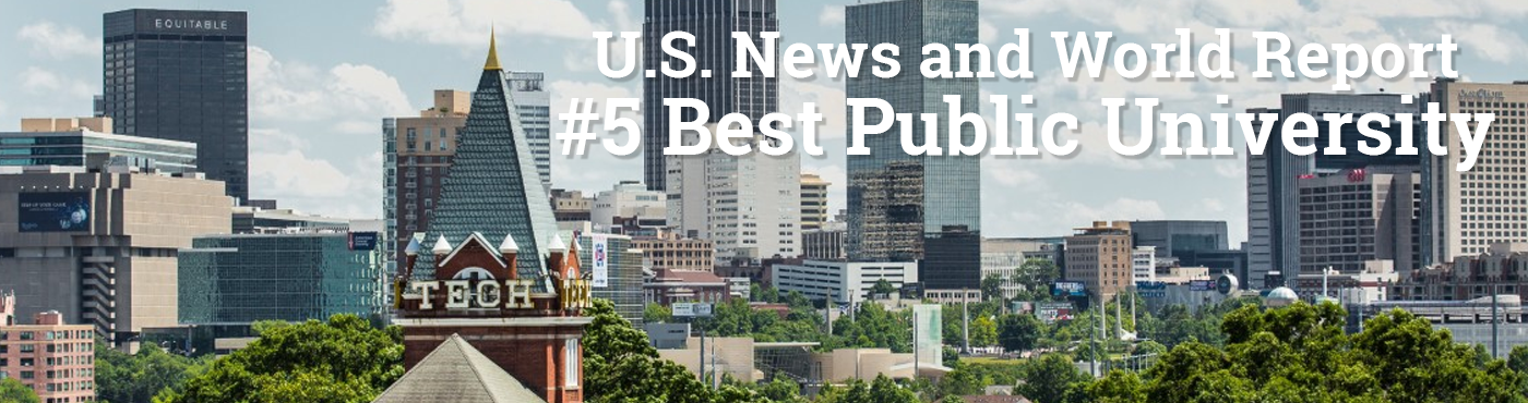 U.S. News and World Report #5 Best Public University